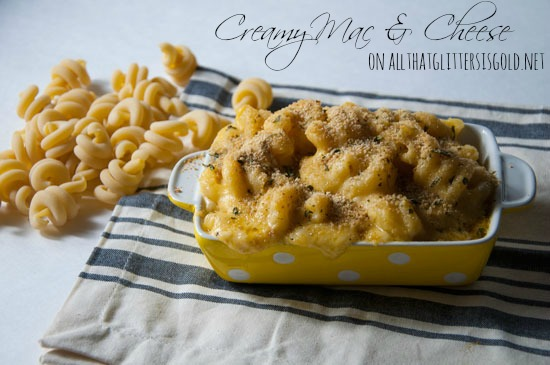 Homemade Creamy Mac and Cheese