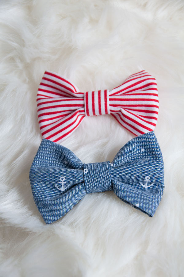 Nautical Themed Bow Set