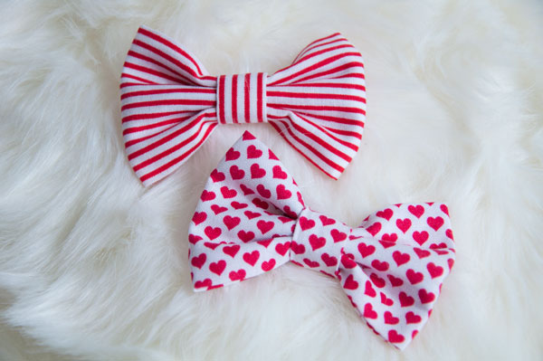 Valentine's Bow Set