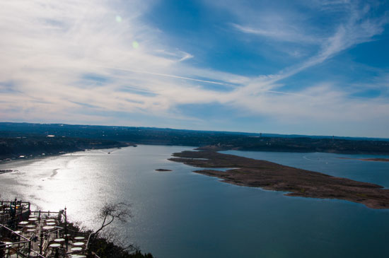View from the Oasis, Lake Travis