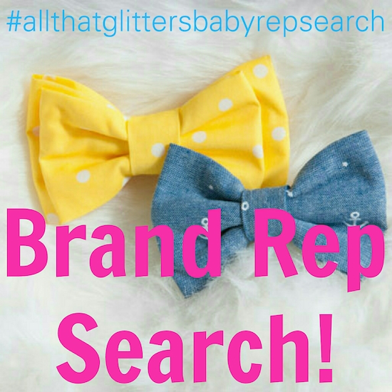 All That Glitters Baby Brand Rep Search