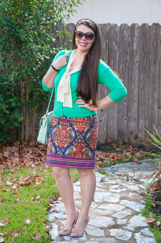Colorful spring outfit inspiration