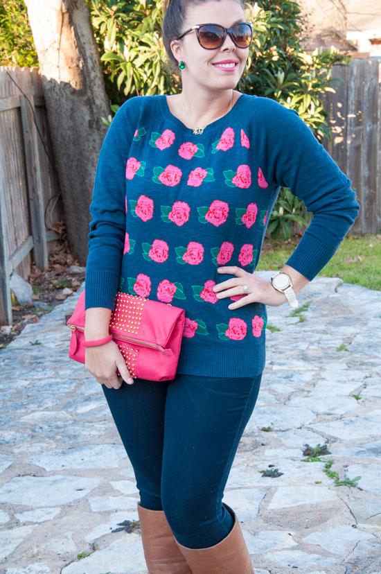 Target Rose Sweater
