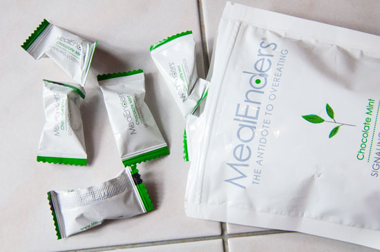 Chocolate Mint Mealenders- Great to help with overeating