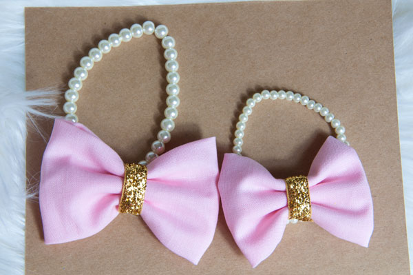 Mommy and Me Bow Bracelets