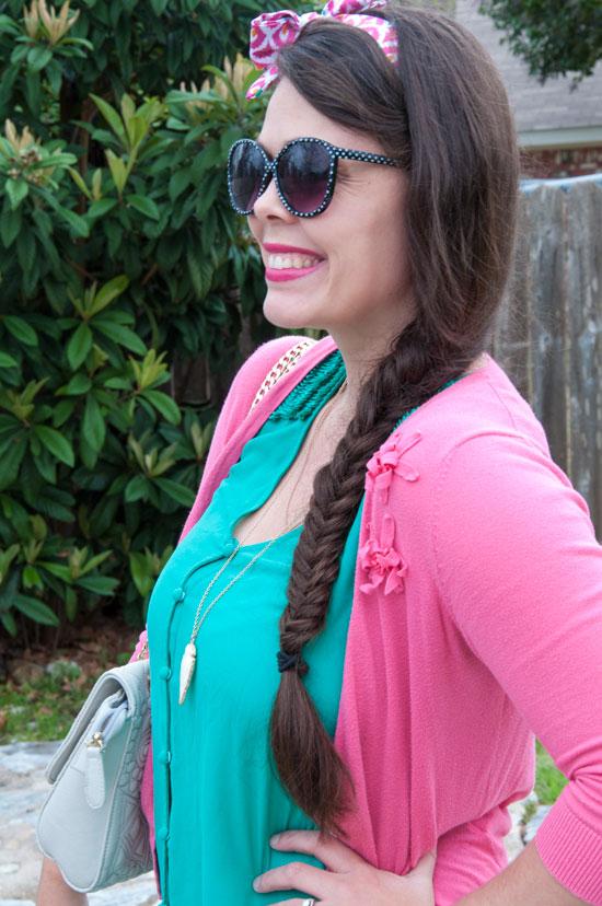 Fishtail braid for spring