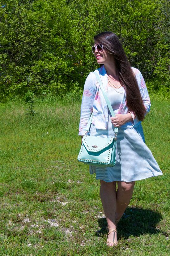 Pastel Floral Blazer