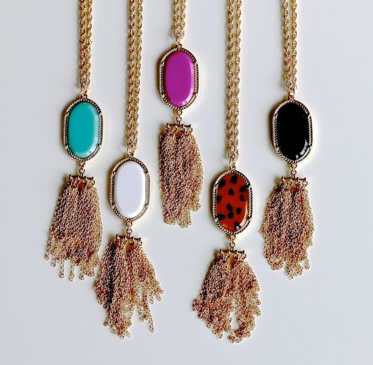 $8 tassel necklaces
