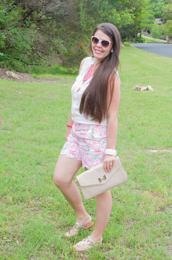 Flamingo Shorts From Lilly Pulitzer