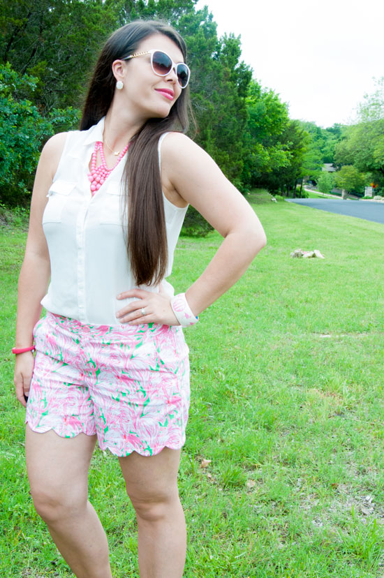 Green Colony Shorts from Lilly P