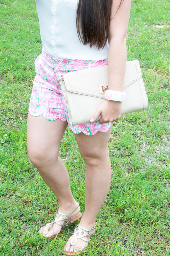 Lilly Pulitzer Flamingo Shorts