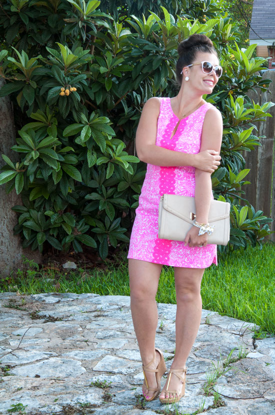 Lilly Pulitzer For Target Shift Dress Pink See Ya Later