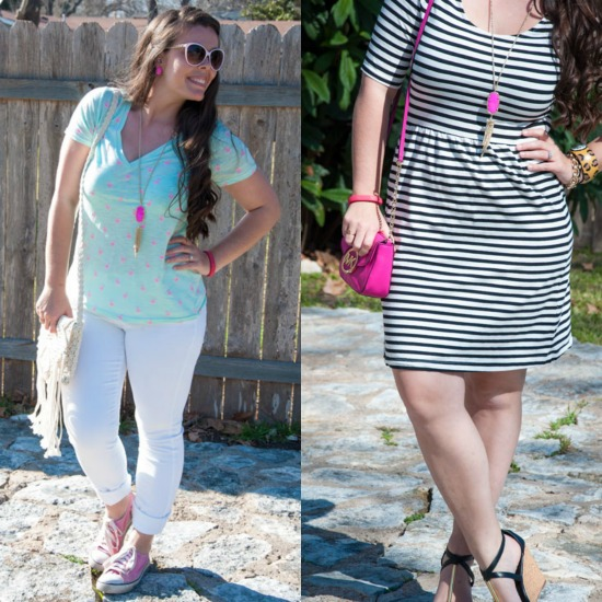 Magenta Rayne Styled Two Ways
