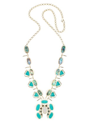 Odessa Necklace by Kendra Scott via maya collection