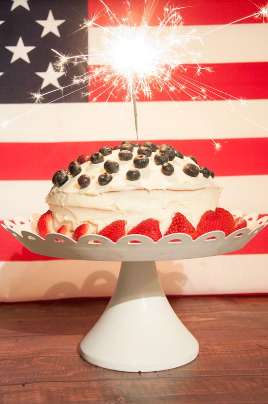 American Sparkler Cake