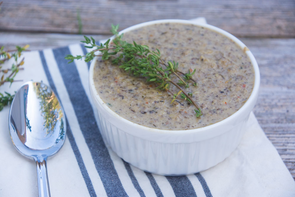 Homemade Mushroom soup- better than the can