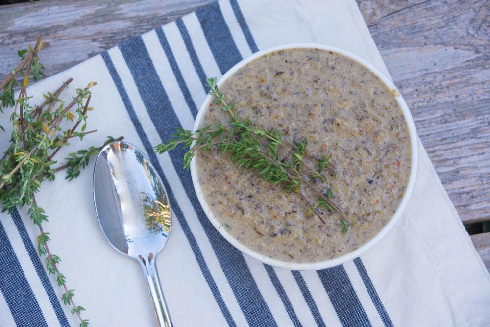 Paleo Mushroom Soup