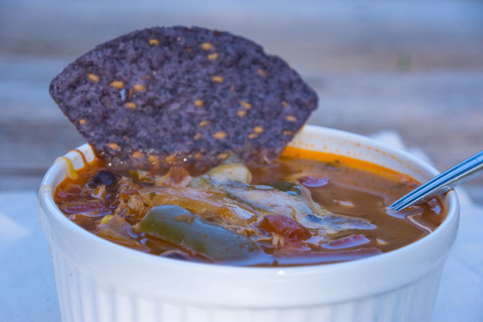 Crock Pot Tortilla Soup