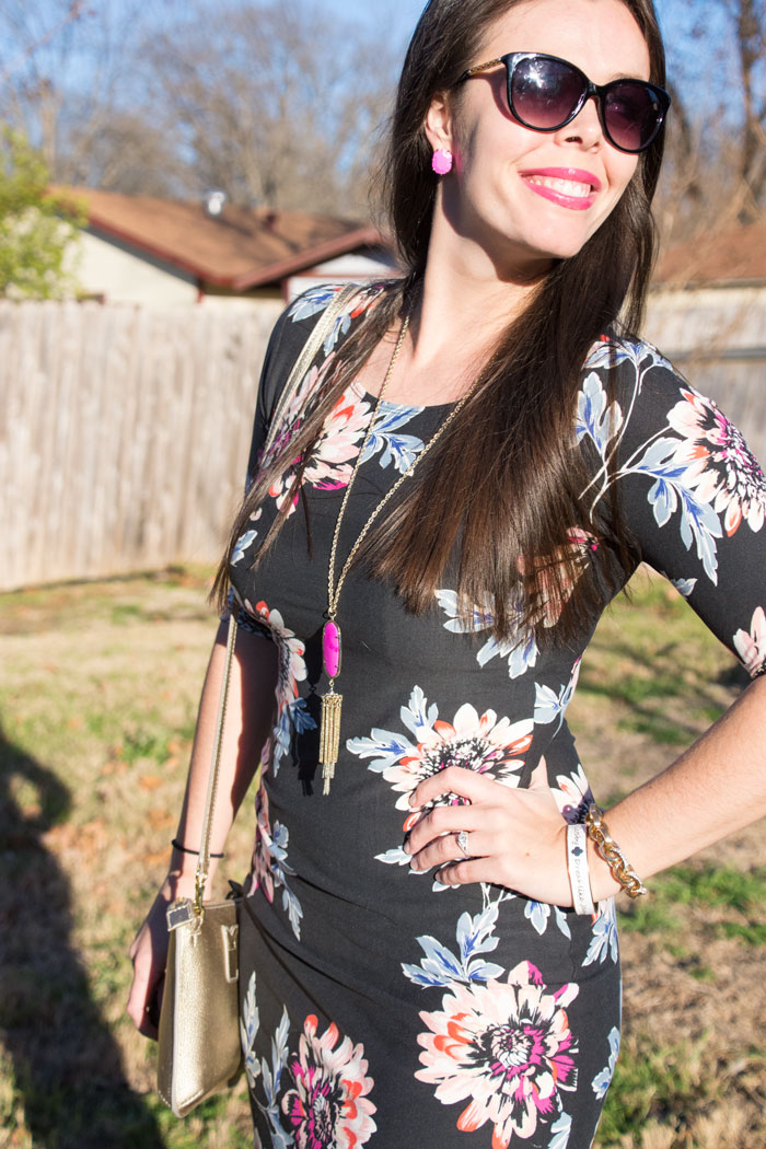 Floral dress from good row